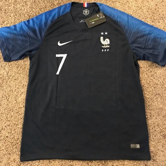 half off 132ca b2447 Griezmann France National Team Jersey 2018